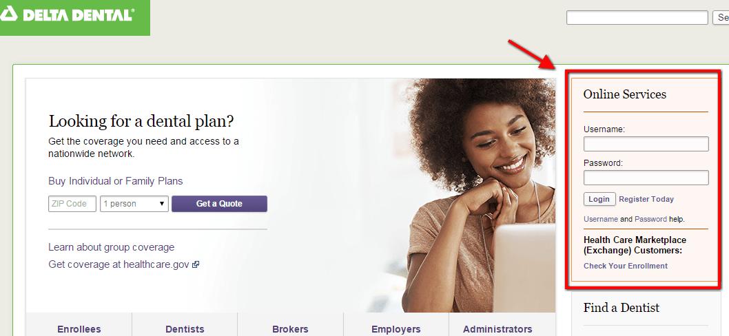 Delta Dental Insurance Login