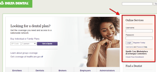 Delta Dental Insurance Login