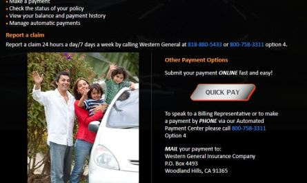 Western General Insurance Login