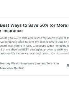 Vgli save money also rates are high let huntley wealth crush them today rh insuranceblogbychris