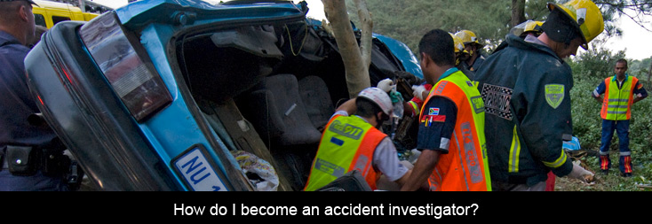 How do I become an accident investigator  Insurance Chat