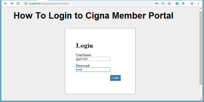 Cigna Providers Log In Portal