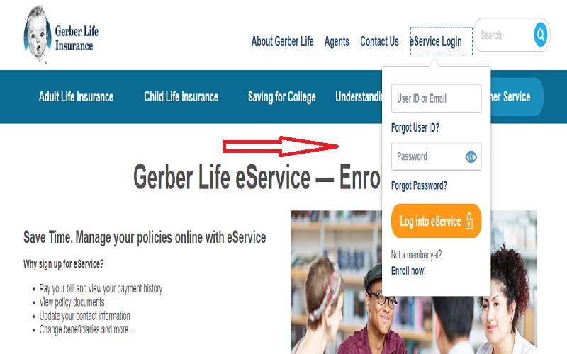 Gerber Life Insurance Pay Bill