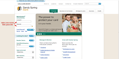 Sandy Spring Bank | Log In Or Enroll – Sandy Spring Bank Login