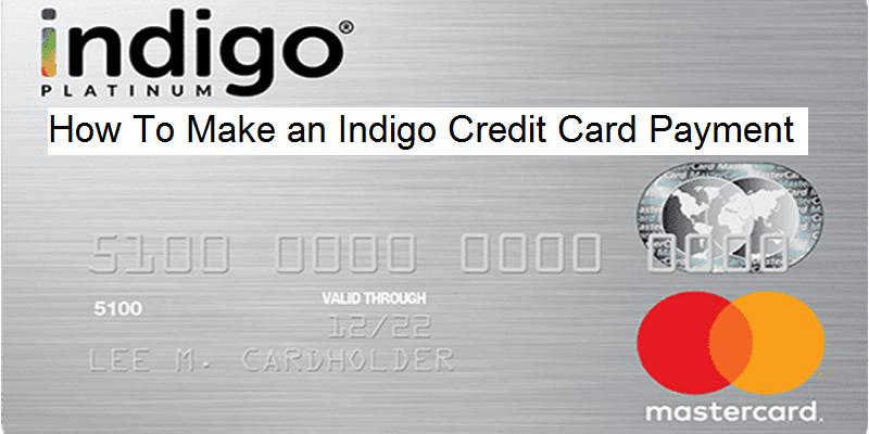 Indigo Make a Payment