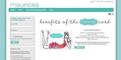 Maurices Credit Card Login | Maurices Credit Card Payment