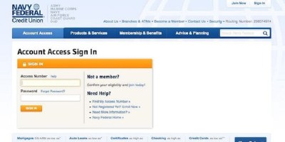 Account Access | Login Or Sign Up – Navy Federal Credit Union Login