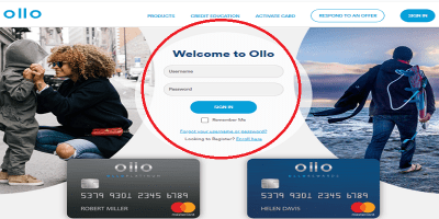 Ollo Credit Card Login: How To Login, Pay Bills Online