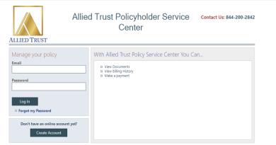 Allied Trust Insurance Agent Login