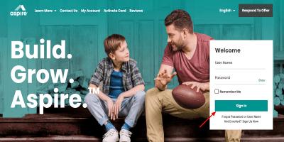Aspire Credit Card Login   How To Pay Aspire Credit Card Bills