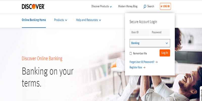 Discover Online Banking Login From a Computer