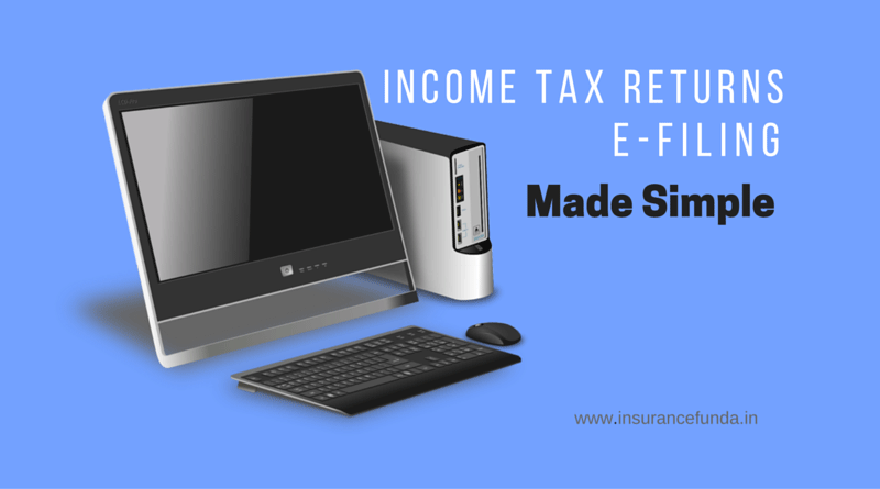 income tax returns e-filing