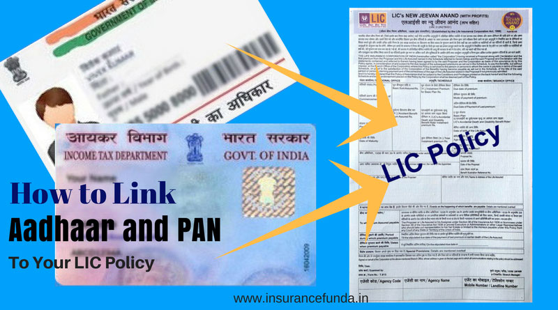 How to link PAN and Aadhaar with lic policy