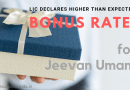 LIC Declares Higher than Expected Bonus Rates for Jeevan Umang