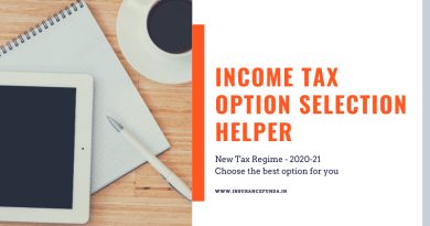 Income Tax 2020 – Best Option Selection Helper (Calculator)