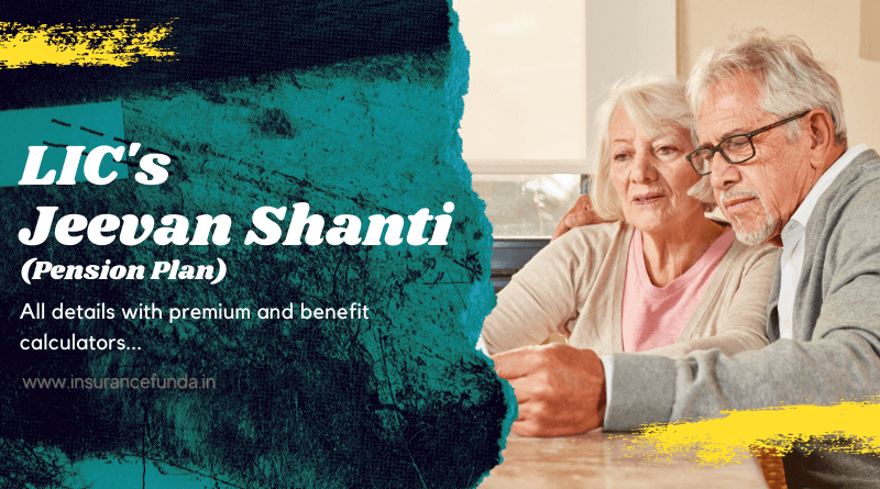 LIC Jeevan Shanti – 850 (Revised) Unique Pension Scheme – Insurance Fund