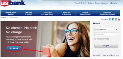 U.S. Bank Online Banking Account