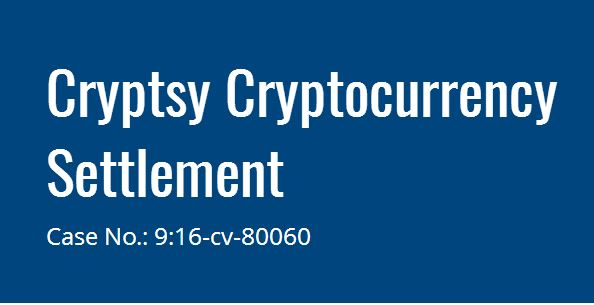 File Claim Cryptsy Cryptocurrency Settlement