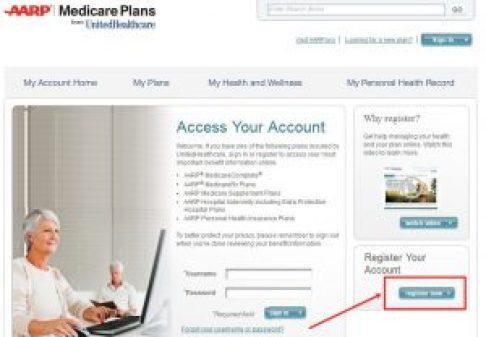 Register For AARP Medicare Plan
