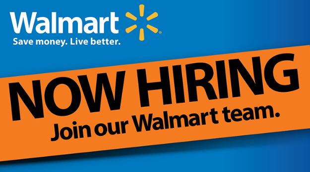 Apply for Walmart Job vacancies