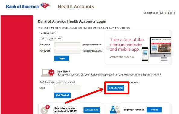 open savings account at bank of america