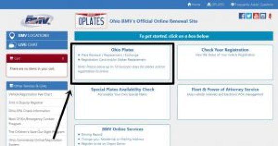 How Renew Plates Online