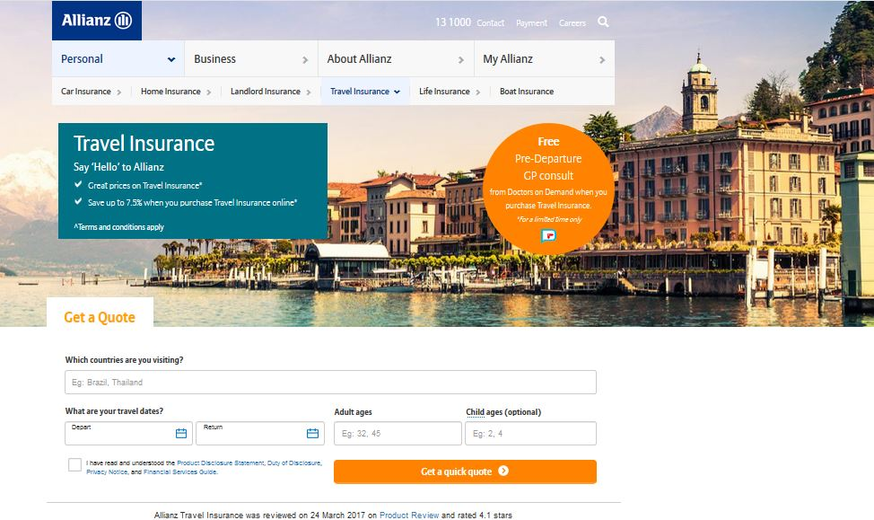 How To Get Free Allianz Travel Insurance Quote