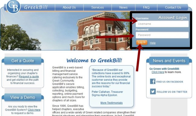 Greekbill Login Online Payment