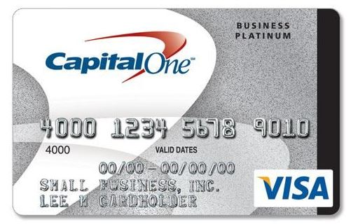 Capital One Credit Card Application