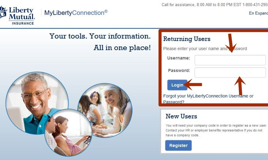 Liberty Mutual Insurance Login
