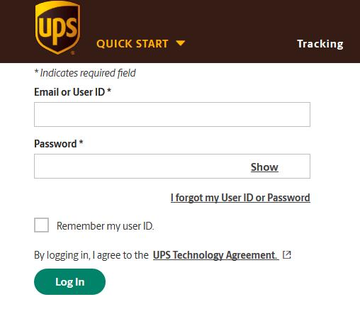 UPS Employee Login Portal www.upsers.com