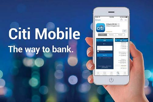 CitiBank Mobile Banking App