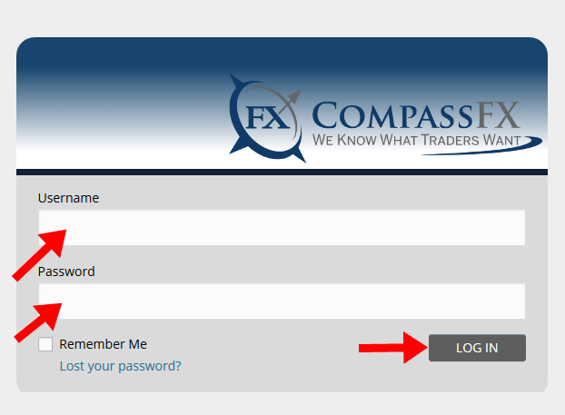 CompassFX Login Account
