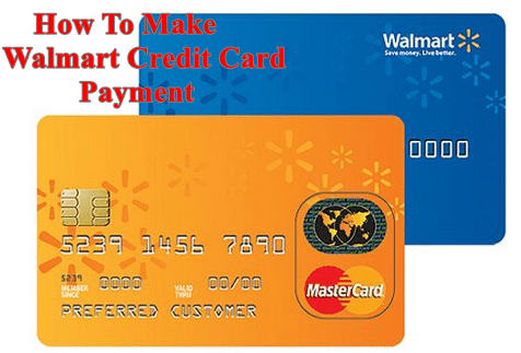 Make a Walmart Credit Card Payment