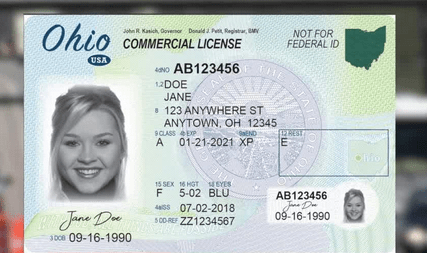 ohio drivers license requirements 2018