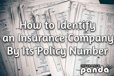 How To Identify A Car Insurance Company By Its Policy Number