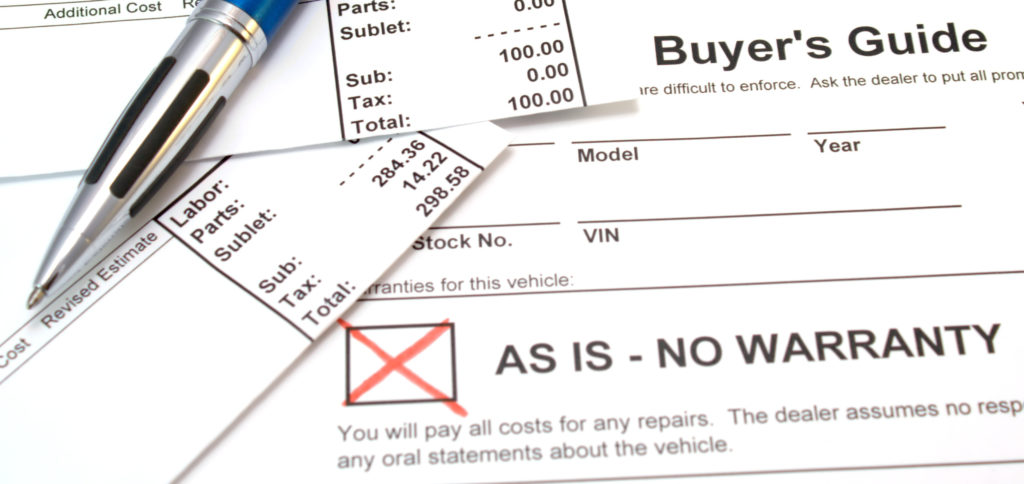 The Importance of the Used Vehicle Buyer's Guide for