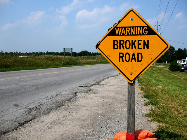 Broken Roads Could Potentially Increase Your Insurance Rates