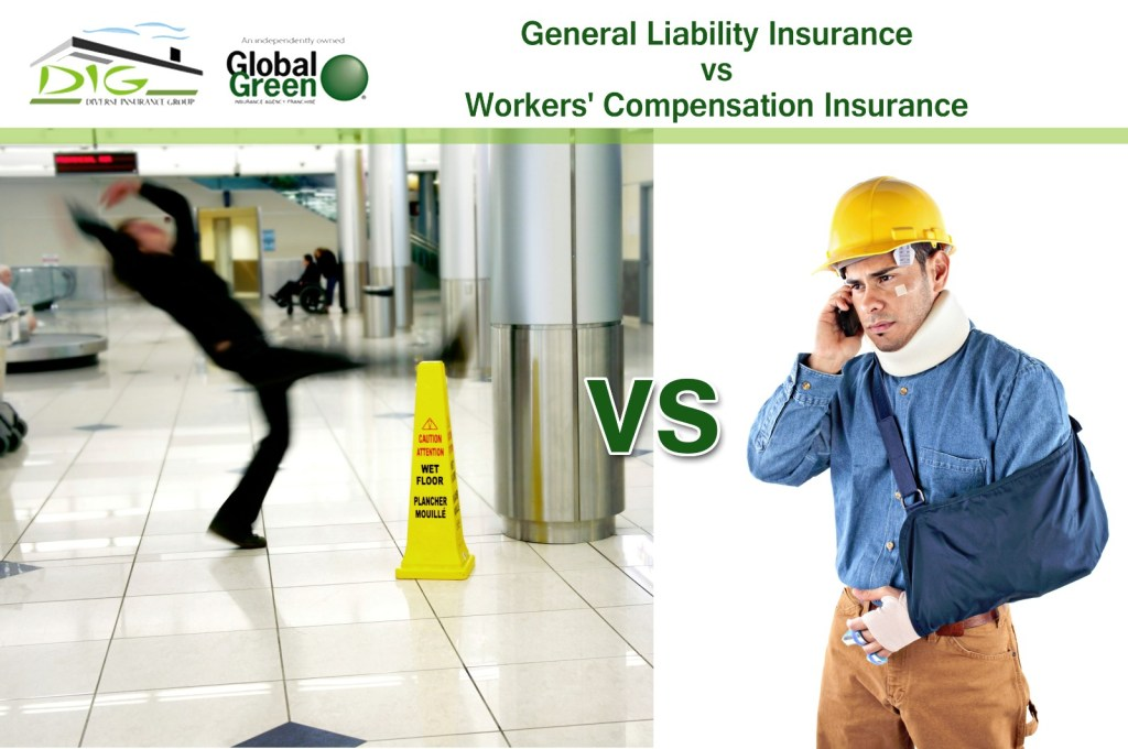 General Liability Insurance vs. Workers' Compensation Insurance