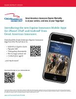 Great American Mobile App Info