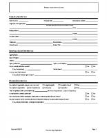 Resort & Lodge Application