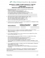Therapeutic Riding Program Supplement – 09-17