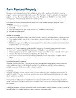 ARIC B10 Insuring Farm Personal Property