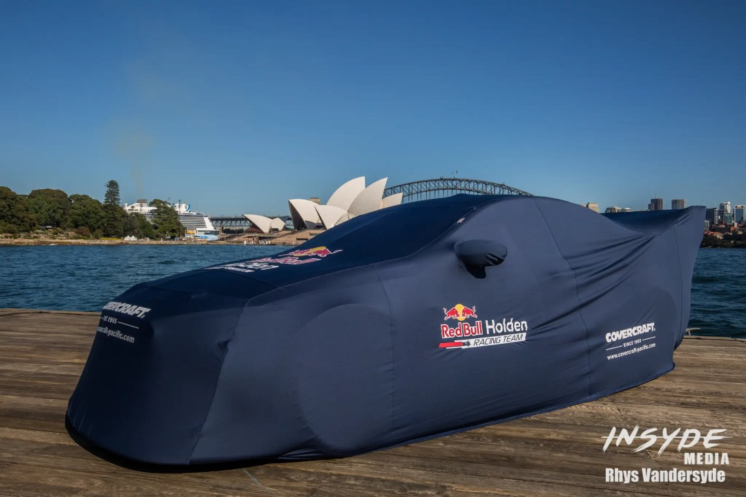 Red Bull Holden Launch on Sydney Harbour