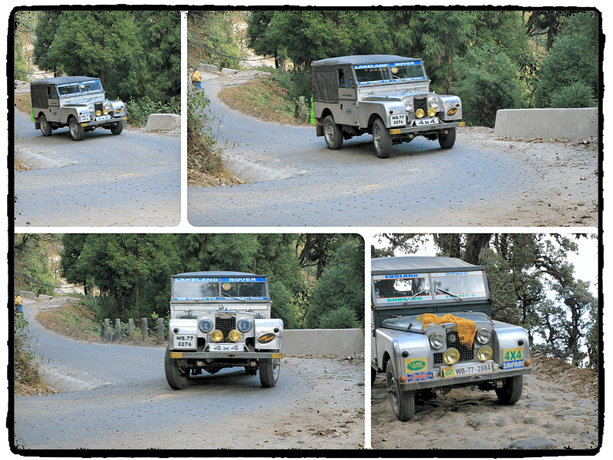 Land Rover – Vintage Adventure Vehicle