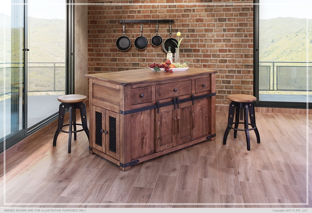 casters for office chairs party tables ifd :: kitchen island / 866 parota