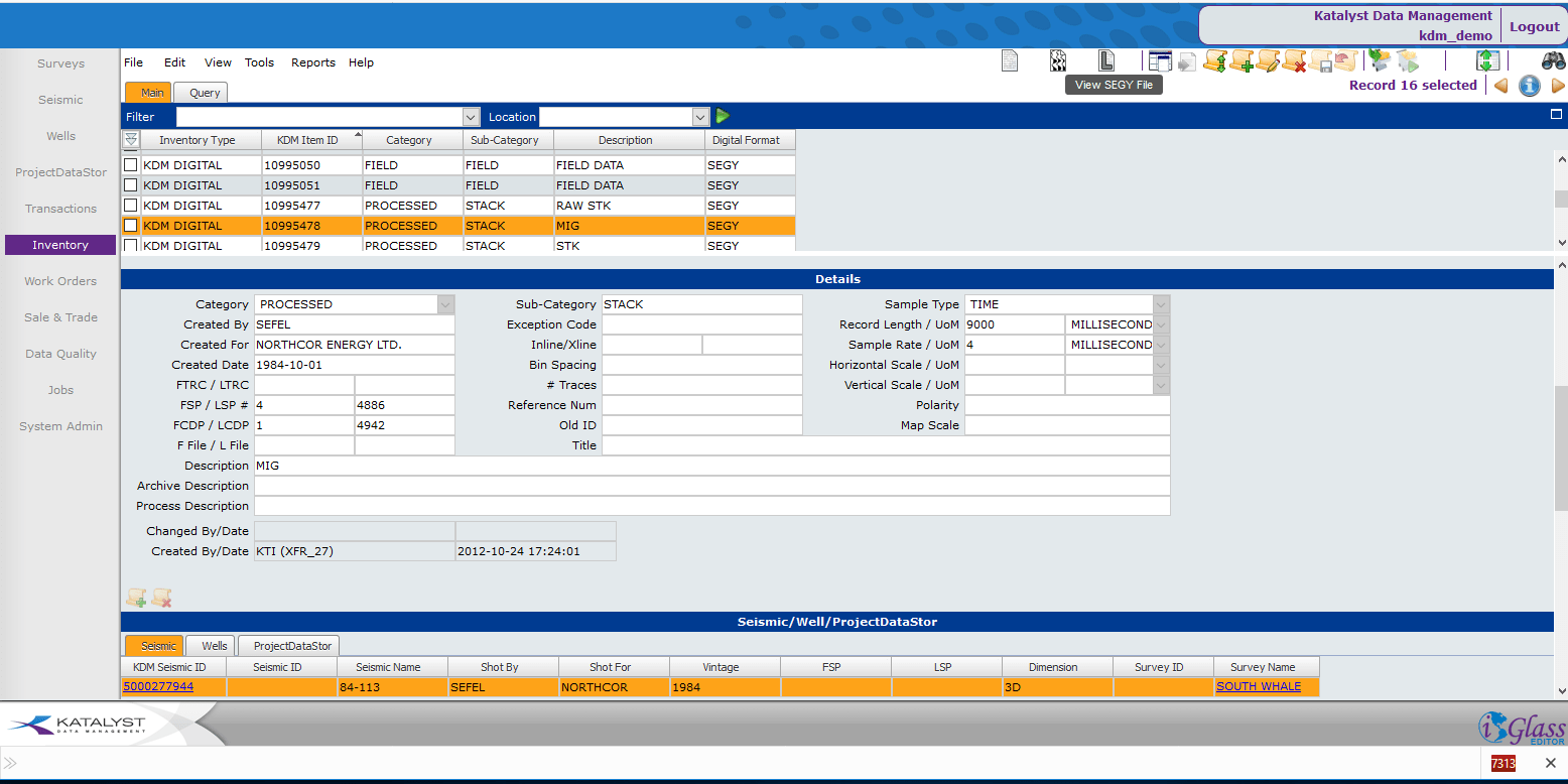 Katalyst Data Management   INT