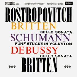 Britten – Sonata in C for Cello and Piano