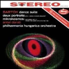 Bartok – Dance Suite for Orchestra, Two Portraits