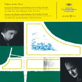 Mozart – Concerto for Piano and Orchestra No. 19 in F major, K. 459/Concerto for Piano and Orchestra No. 27 in B flat major, K. 595